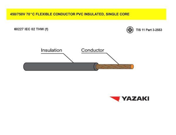 สายไฟ 60227 IEC 02 THW (f)
